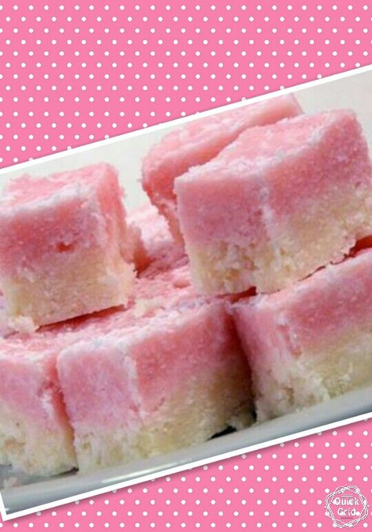 Coconut-ice