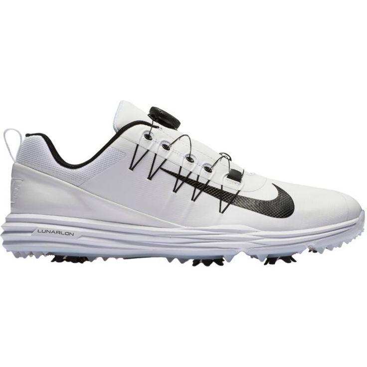 Nike Lunar Command 2 Boa Golf Shoes, Men's, White