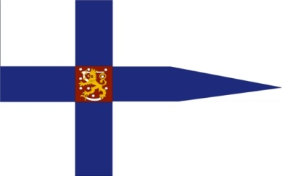 BANDERA ENSEÑA DE FINLANDIA
