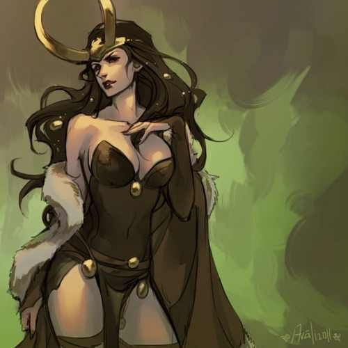 Lady Loki. I need to cosplay this so bad.