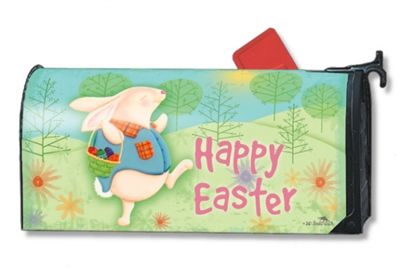 Happy Easter Mailbox Mailwrap Cover