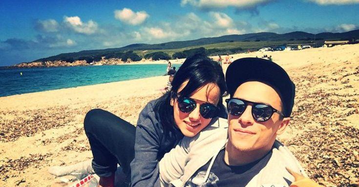 Alizée et Grégoire, c'est l'amour à la plage
