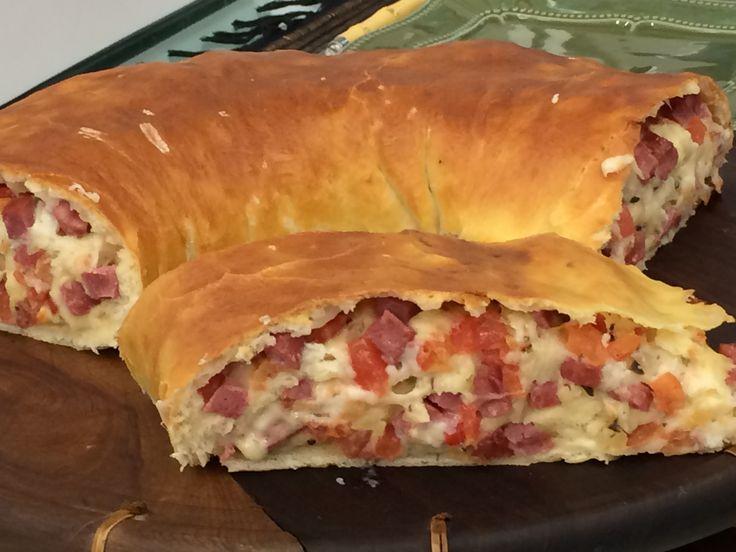 Pão de Linguiça Calabresa da fazenda da Ana Maria Braga | Pães e salgados > Receitas de Pão | Mais Você - Receitas Gshow