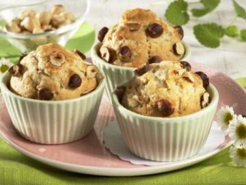 Oříškové muffiny