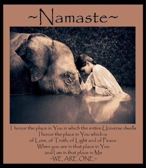 ~Namaste~ I NEVER get tired of these. Gave me chills.