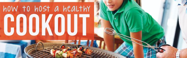 How to Host a Healthy Backyard Cookout - Your summer calendar may be filled with backyard cookouts, but attending a BBQ could have you eating 1,500 calories. Avoid the guilt with these healthy strategies.