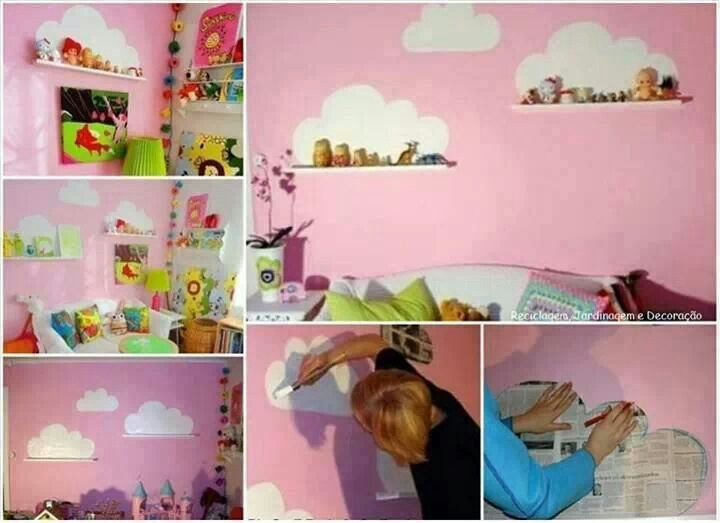 Nice idea for a kids room   kids stuff   Pinterest
