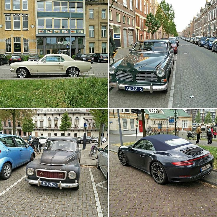Rotterdam seems to be the perfect vacation if you're looking forward to spotting cars on said vacation. Here are some examples.  #Instacar #spotted #rotterdam #netherlands #Ford #Mustang #FordMustang #Volvo #OldVolvo #Porsche #Carrera4s #cabriolet #porsche911 #rusty #clean by allthingspetrolhead