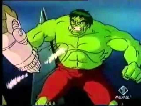 L'incredibile Hulk sigla HQ - YouTube