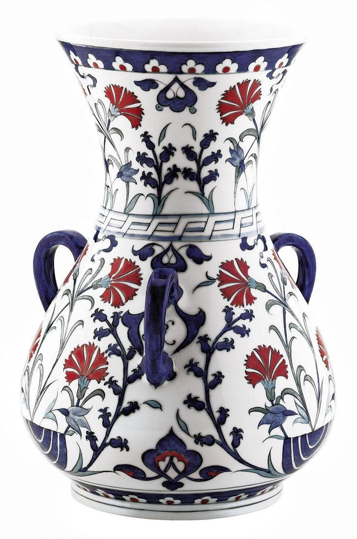 Kandil 25 cm Vazo | Kütahya Porselen