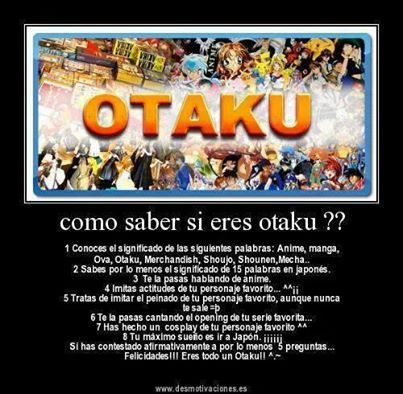 el mundo Otaku es lo mejor