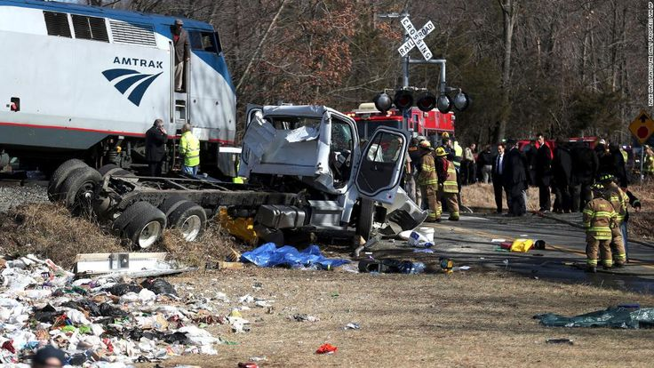 A train carrying members of Congress -- including House Speaker Paul Ryan -- to their legislative retreat in West Virginia hit a truck Wednesday, multiple sources told CNN, leaving at least one person dead.