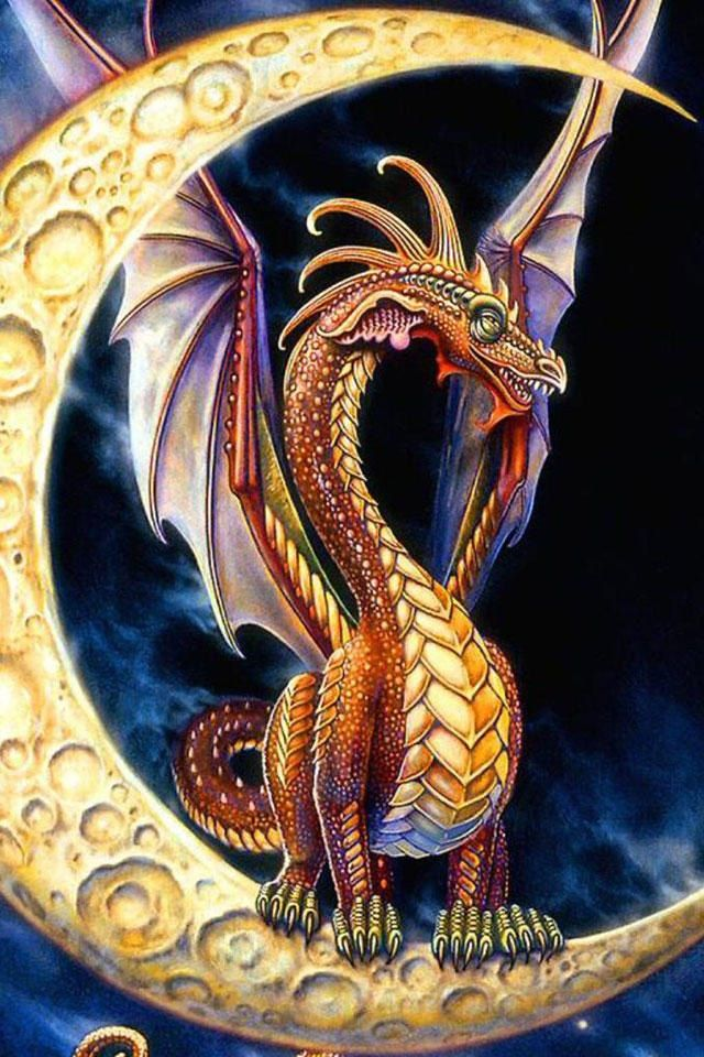 Moon Dragon ~ Myles Pinkney