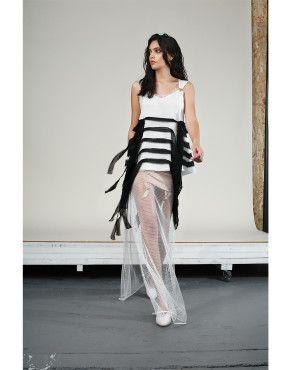 Fringe Top | Skin Skirt | Cage Skirt