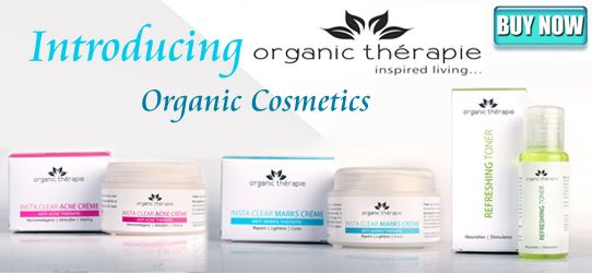 Organic Therapie Chemical Free Personal Care Range