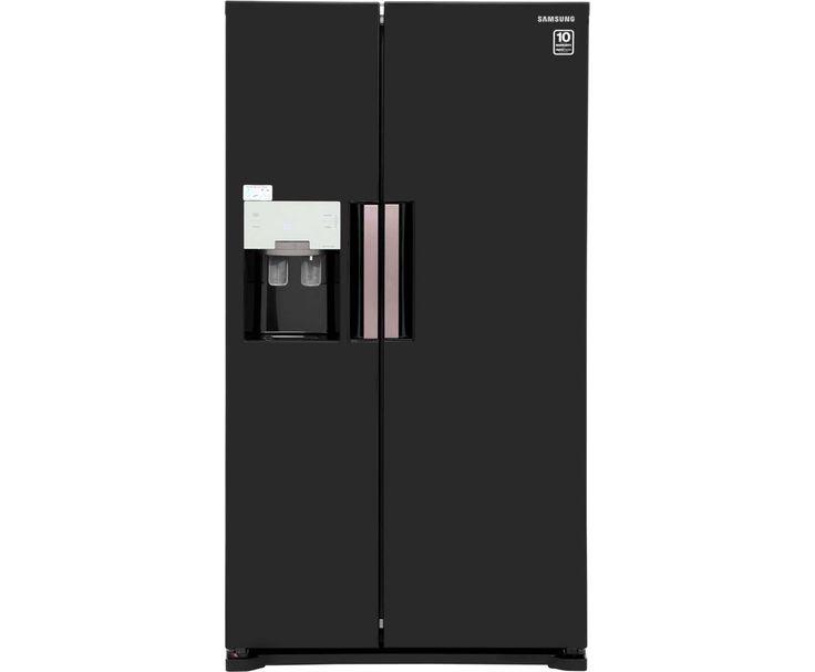Samsung H-Series RS7667FHCBC American Fridge Freezer - Black Gloss £999