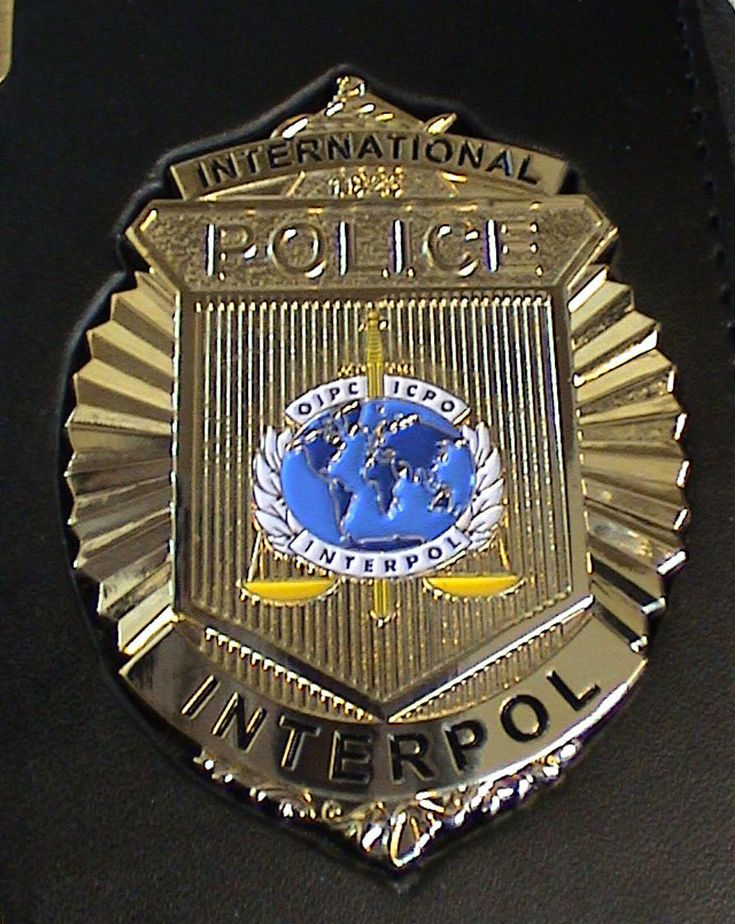 International Police (Interpol) badge | Flags & Symbols ...