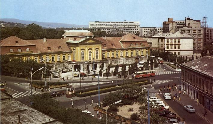 Námestie 1. mája, Bratislava 1950's?