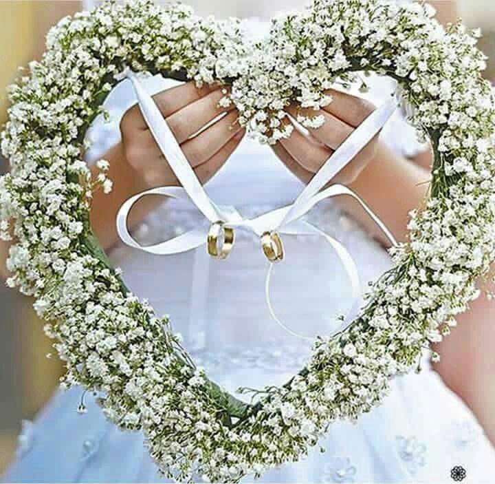Porta Aliancas Baby S Breath Weddings Pinterest Wedding Ring