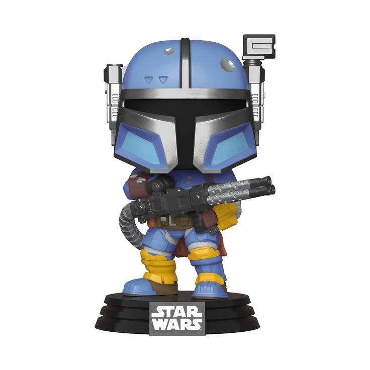 Funko Pop Star Wars The Mandalorian Heavy Infantry Mandalorian In 2020 Funko Pop Star Wars Star Wars Gifts Vinyl Figures