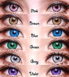 Colored Contact Lens (will not arrive before Halloween)