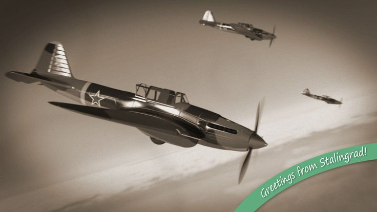 Sturmoviks over Stalingrad! Render: Blender Cycles Post-pro: GIMP
