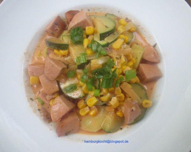 Hamburg kocht!: Kochen ohne Tüte: Zucchini-Fleischwurst-Pfanne