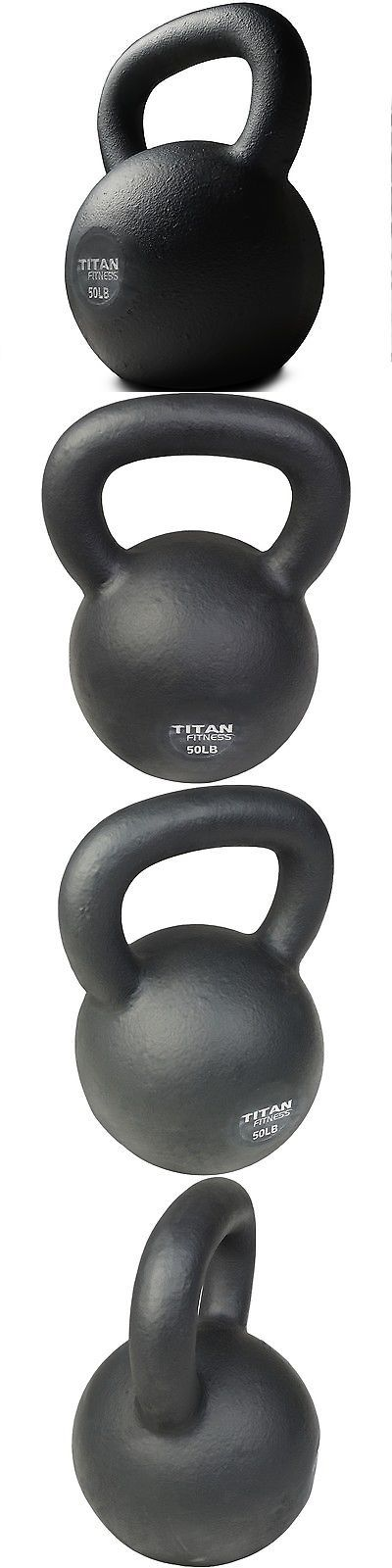 Kettlebells 179814: Cast Iron Kettlebell Weight 50 Lb Natural Solid Titan Fitness Workout Swing -> BUY IT NOW ONLY: $69 on eBay!