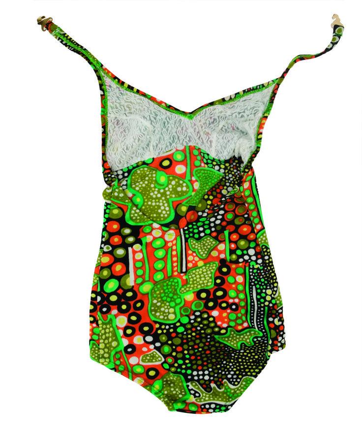 Un maillot de bain typique années soixante-dix, collection privée © Solo-Mâtine