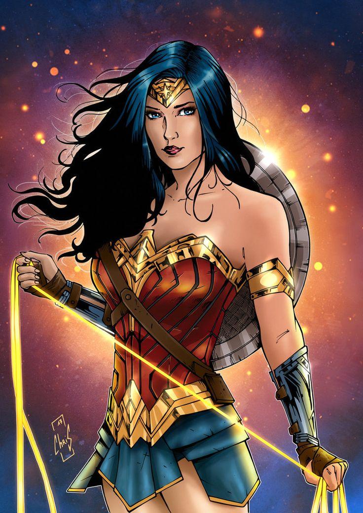 Wonder Woman by Spidertof.deviantart.com on @DeviantArt
