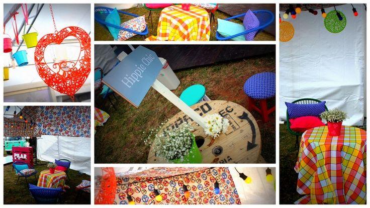 espacio Hippie Chic para el picnic del cierre del PAM 2013, diseñado para PILAR