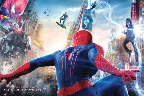 Niesamowity Spiderman 2 - Atak - plakat - 91,5x61 cm  Gdzie kupić? www.eplakaty.pl