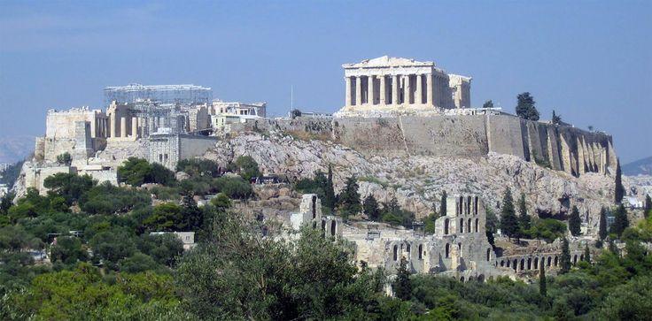 Panorámica de la Acrópolis de Atenas - Portal Fuenterrebollo