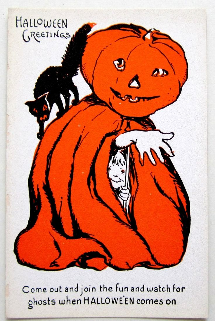786 best halloween cards images on pinterest vintage halloween halloween greetings come out and join the fun and watch for ghosts when halloween comes kristyandbryce Images