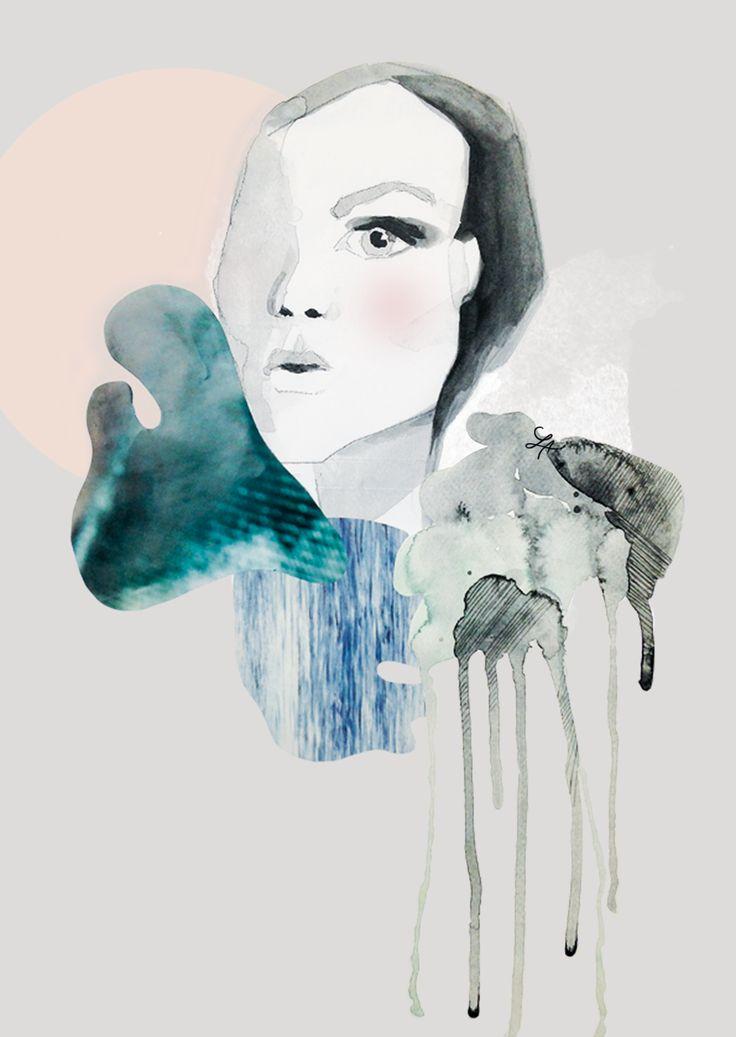 Fashion illustration   Drawing workshop   2015   LOUISE/ANDERSEN