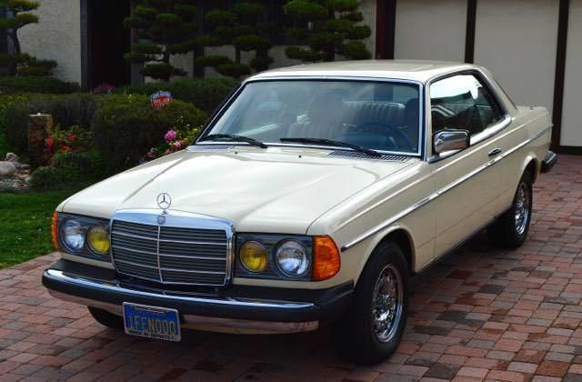 1982 Mercedes Benz 300 Series 300cd Turbo Diesel coupe in