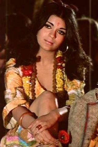 70's style icon Zeenat Aman