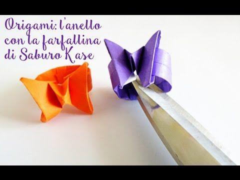 Origami: l'anello con la farfalla da fare in 1 minuto