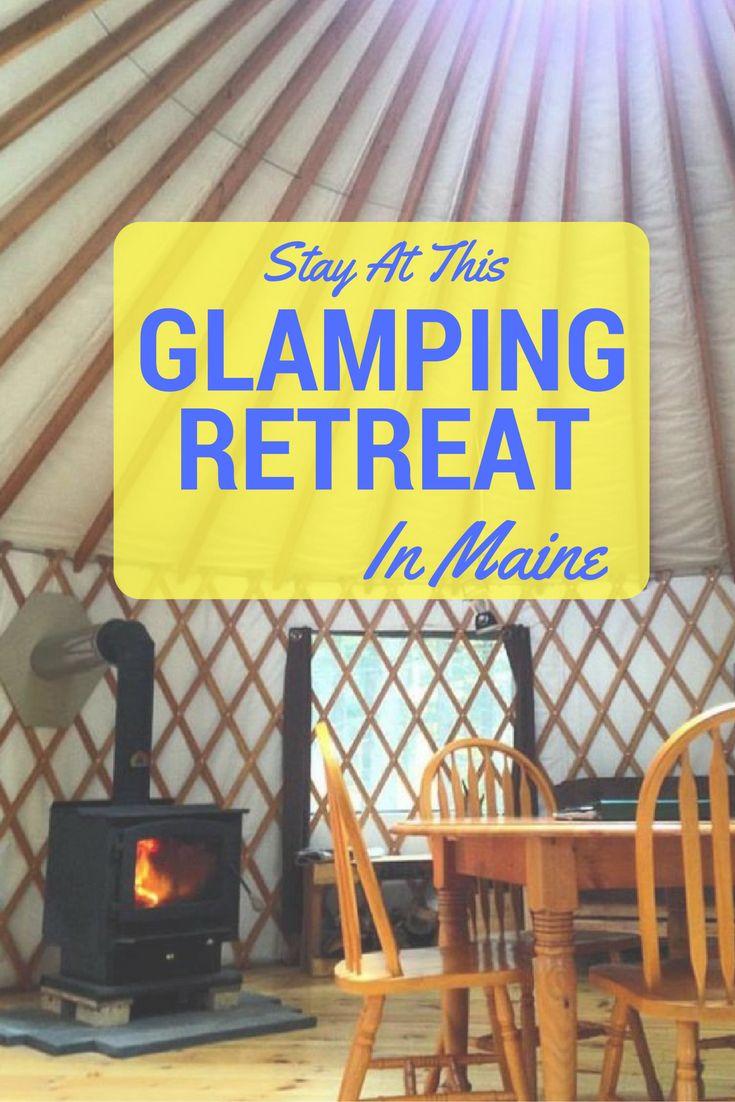 maine, camping, glamping, travel, USA, vacation, new england, camping in maine, glamping in maine, huts, cabins, yurts
