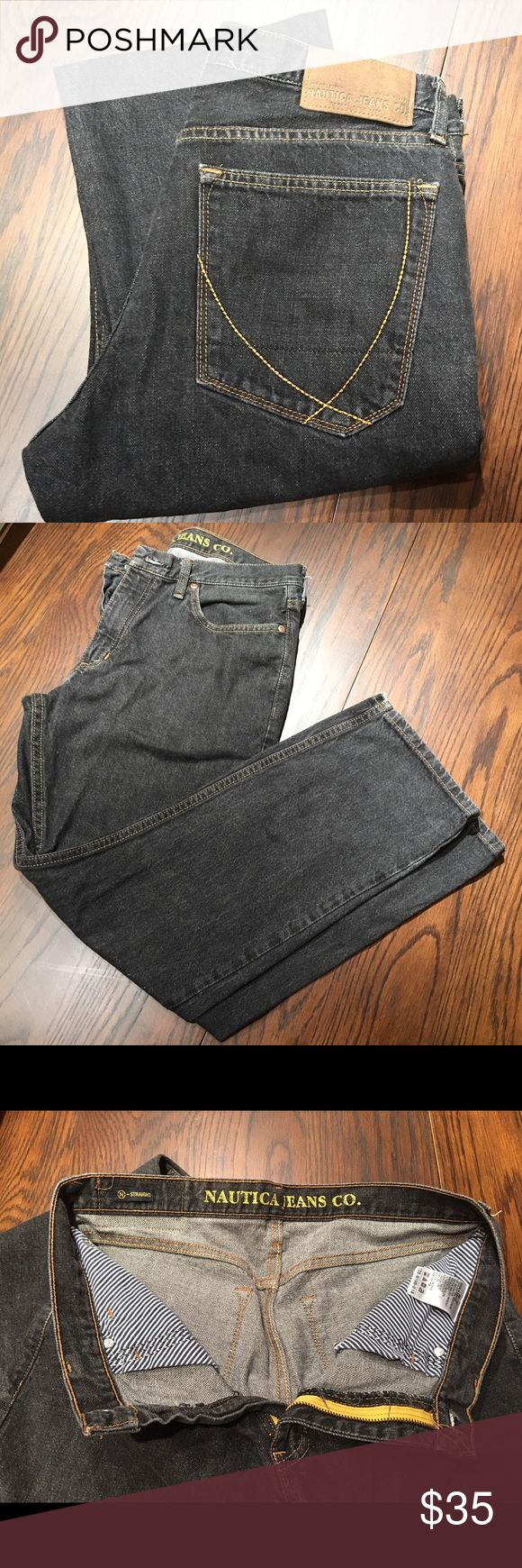 Nautical Jeans Co straight jeans 32/30 Nautical Jeans Co straight jeans 32/30. 100% cotton exclusive of decoration. Machine wash cold inside out. Nautica Jeans Straight