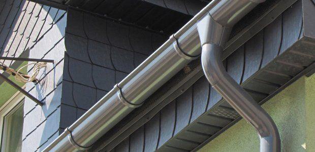 Grey Pvc Vs Graphite Grey Steel Guttering A Colour Comparison Plastic Guttering Gutters Gutter Colors