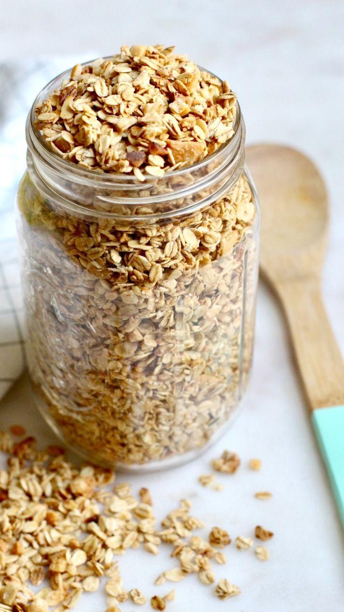 Easy Homemade Granola Recipe Easy Granola Recipe Nut Granola