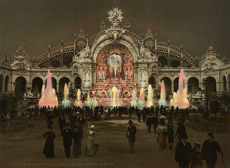 140 best images about exposition universelle de 1900 a paris on pinterest happy bastille day. Black Bedroom Furniture Sets. Home Design Ideas