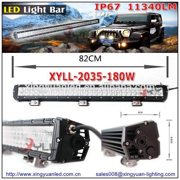 Amazing  Newest double row truck light bar LED W flood spot beam LED light bar