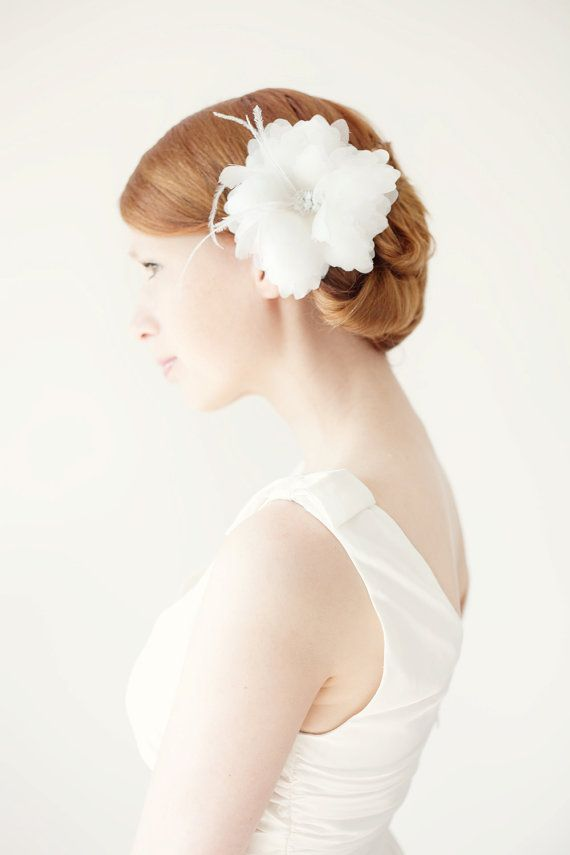 Finely Feathered - Bridal Hair piece €97 (€101)