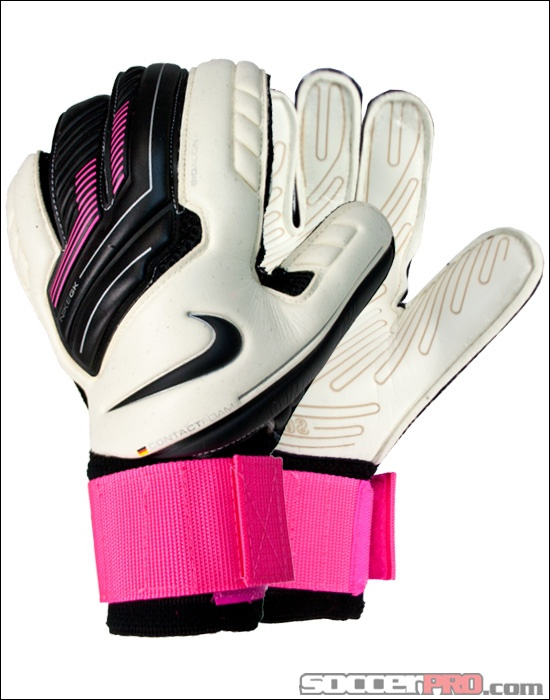Nike GK Premier SGT Goalkeeper Glove - White with Pink Flash...$119.99