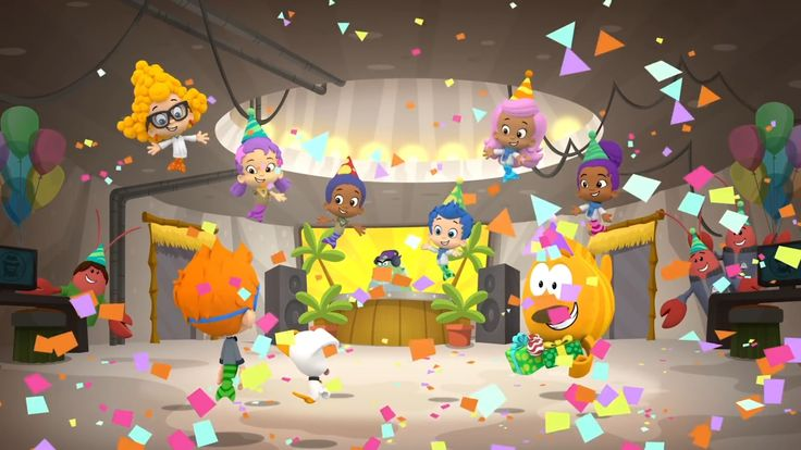 Nonny usually has the lunch punchlines. in 2019 | Bubble ...  |Bubble Guppies Nonny Happy
