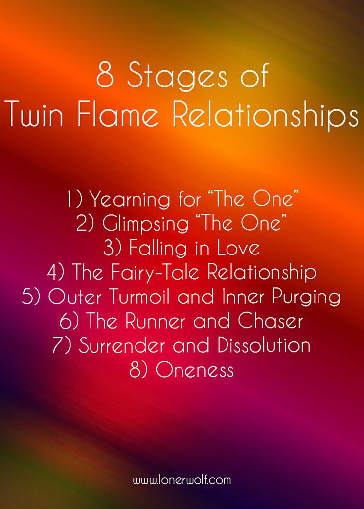 Every twin flame love is unique, but there is a general pattern that tends to emerge ...