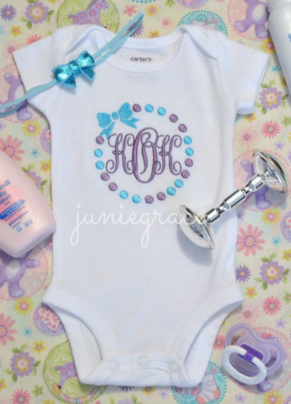 30 best personalized onesies images on pinterest babies clothes baby girl coming home outfit baby girl clothes baby girl gift newborn baby girl outfit monogrammed baby girl hospital outfit negle Gallery