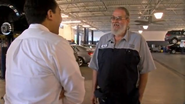 Long lost envelope with $10,000 found at St Pete car dealership -  Crown Hyundai used car technician Brett Cadoratch was cleaning out cars that had recently been traded in at his dealership. While combing through a Hyundai Elantra, he spotted something.